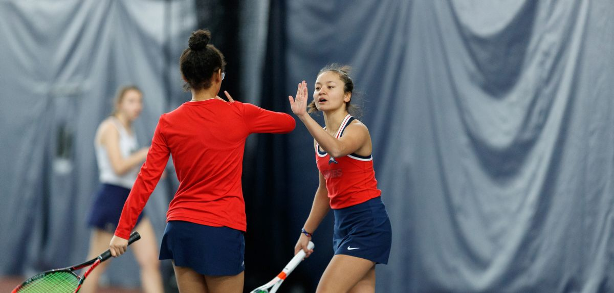Liberty swept Navy 7-0, Saturday at Crosswhite Athletic Club.