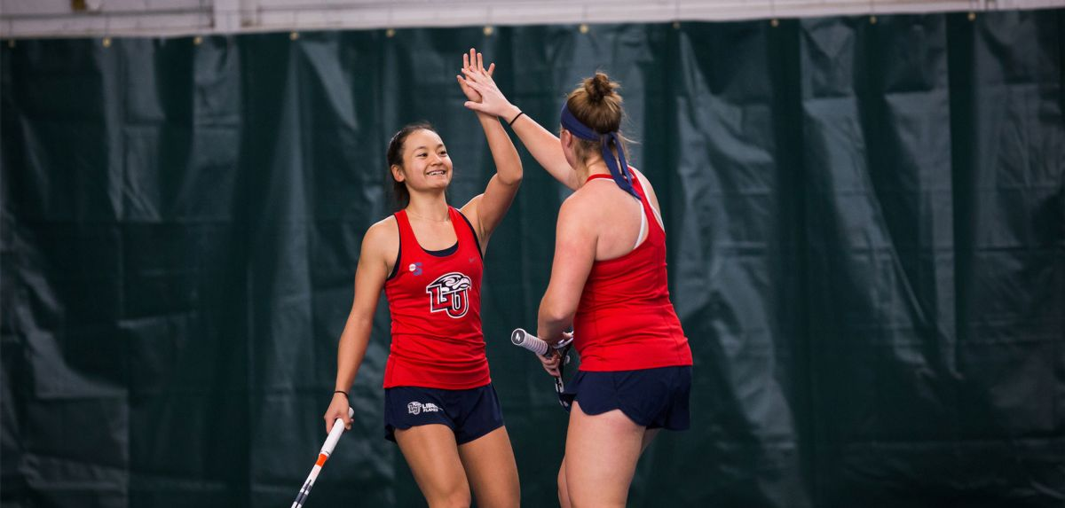 Hashiguchi is the Big South Women's Tennis Freshman of the Week for the first time in her Liberty career.