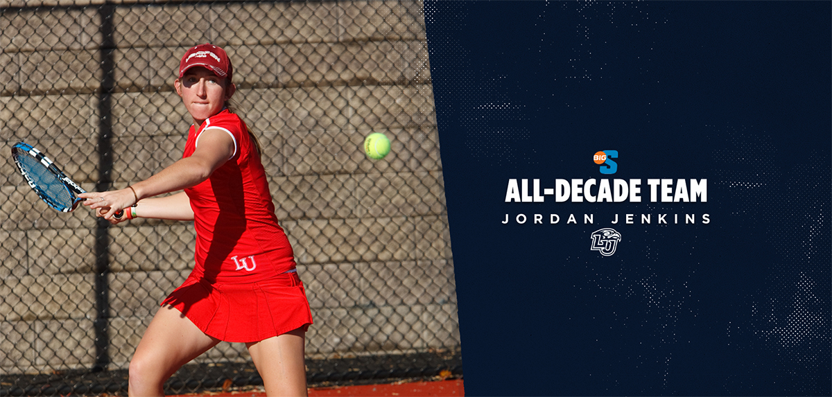 Jenkins has been named to the Big South Conference Women's Tennis All-Decade Team (2010-19) in both singles and doubles.