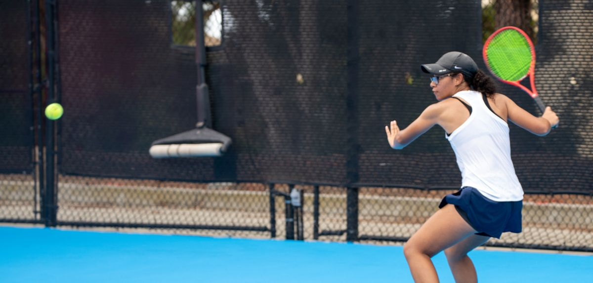 Soli picked up a victory on day two of the Oracle ITA Masters in Malibu, Calif.