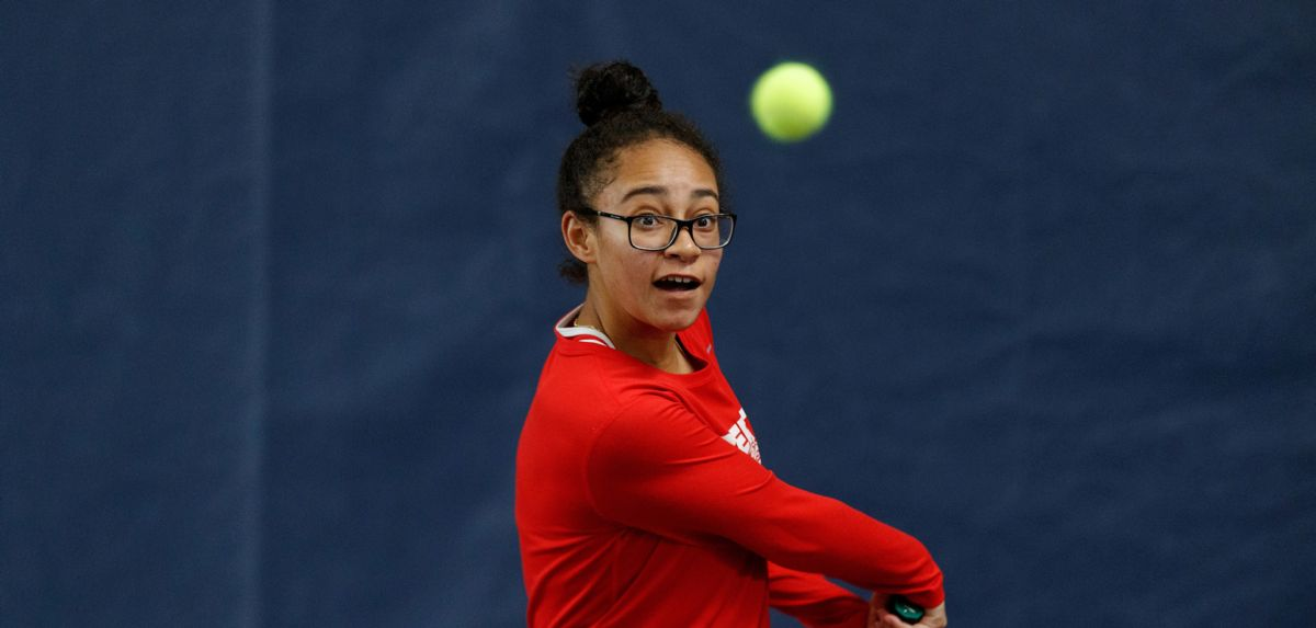 Soli and her doubles partner Grace Hashiguchi clinched the doubles point for Liberty on Sunday at Furman.