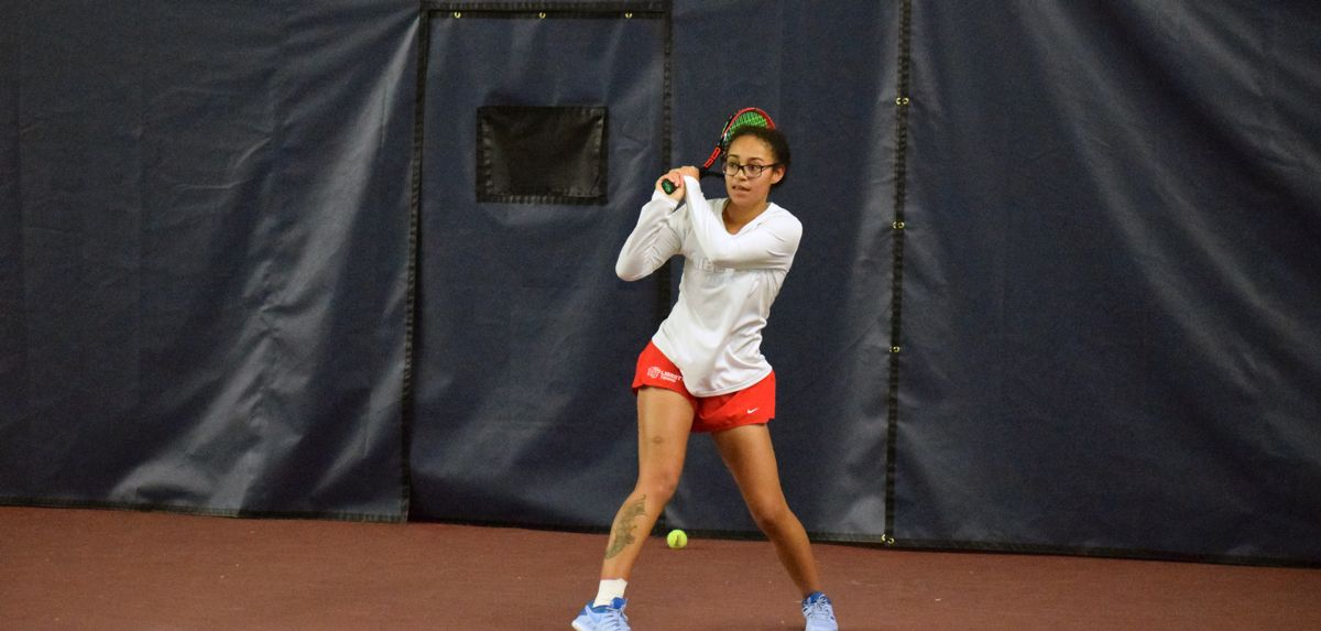 Soli played a three-set match on Saturday at Wake Forest.