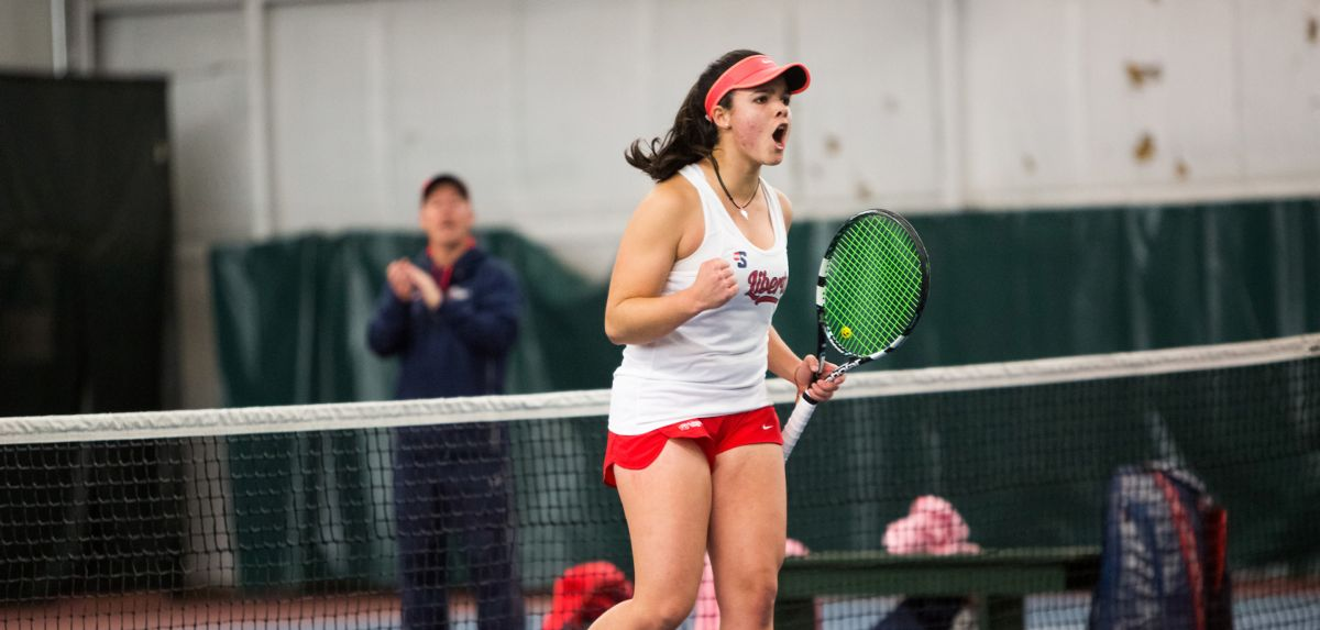Soares won twice in singles on Saturday against North Carolina A&T and UNCG.