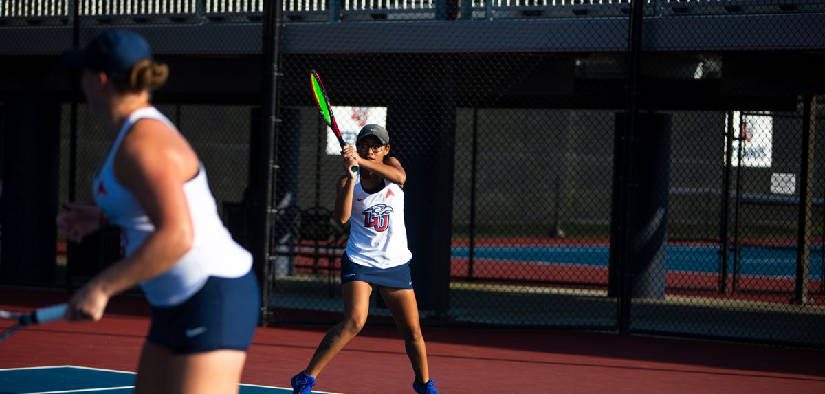 Anderson and Soli are just the second pairing in Liberty women's tennis program history to compete at the prestigious event.