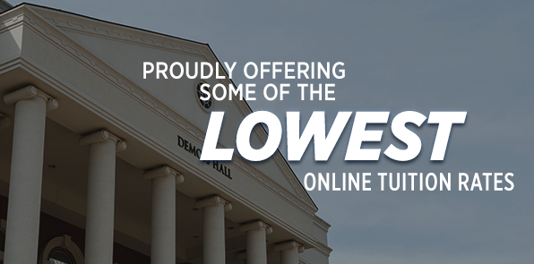 Low Online Tuition Rates