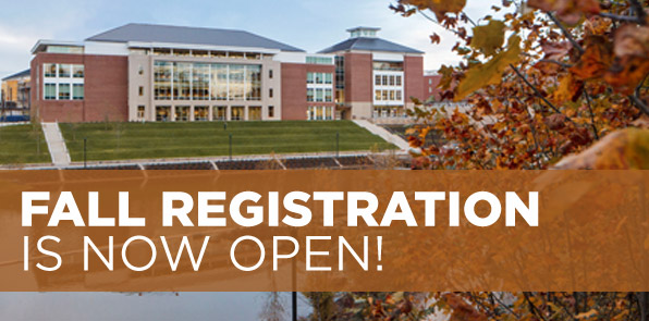 Fall Registration is Now Open!