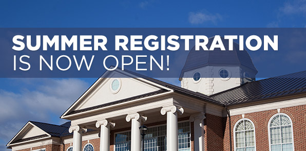 Summer Registration is Now Open