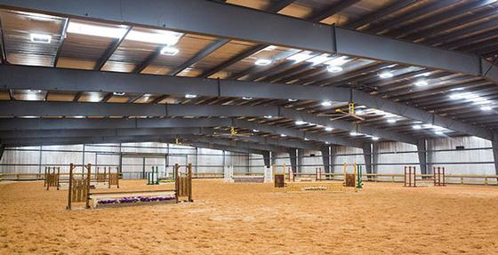The Equestrian Center Is Home To Liberty Hunter And Western Teams As Well Student Boarders Kinesiology Riding Classes Three Main Barns