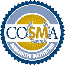 COSMA Accreditation Seal