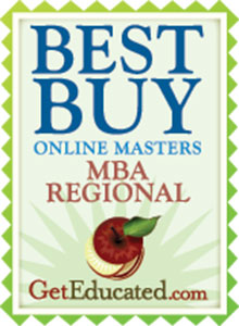 MBA degree program regional award