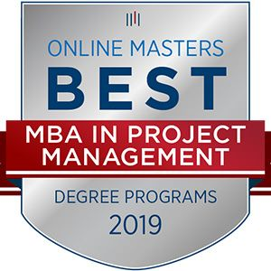 MBA Project Management Award