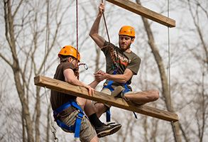 Challenge Course through Outdoor Recreation at Liberty University