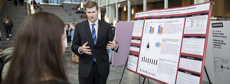 Poster Presentations at Research Week
