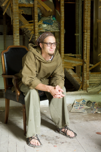 Shane Claiborne wants to return the church to the image of Christ. Photo Credit: Erik Stenbakken
