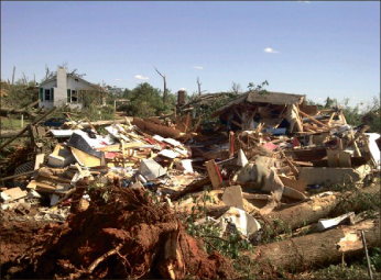 Photos Provided Destroyed — 266 tornadoes in 24-hour period from April 27 until 8 a.m. on April 28.  There have been 334  fatalities confirmed and the number may increase as search for missing continues.
