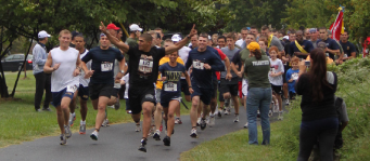 Support — Runners showed up in droves for last year's run in Annapolis, Md. Photo provided