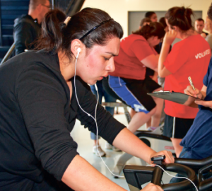 Seeing results — LaHaye LUser will encourage competing students not only to lose weight, but to make lifestyle changes that will impact every area of their lives. Photo credit: Barney Davis, Promotional Publications
