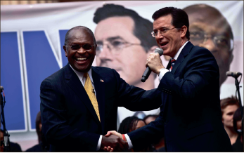 Cool runnings — While Colbert's run in the 2012 election was short-lived, the result of his push for a Super PAC may become a trendsetter for future elections. Getty Images