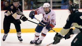 Crunch time — Liberty DI hockey looks to compete for the ACHA Championship in March. Photo credit: Ruth Bibby