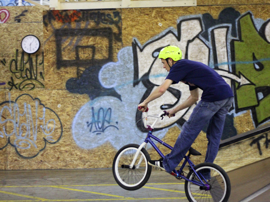 Graffiti — Liberty's skate park is holding a competition for graffiti artists to repaint the park.