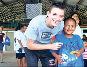 Taking action — Hunter Smith was changed by a trip to Guatemala and now hopes to bring clean water to the country by raising money for wells with the Aqua Pura 5k. Photo provided