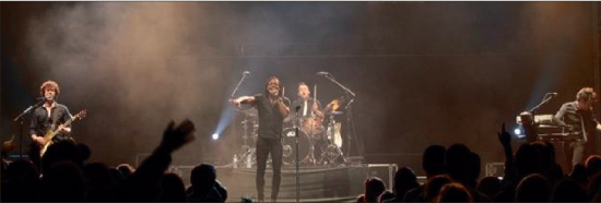 "Newsboys return — Well-seasoned and well-known Christian band the Newsboys will take to the Vines Center stage, March 24, in the ""God's Not Dead"" tour. Other bands will include The City Harmonics, Abandon and Anthem Lights. Photo credit: Alex Towers, TRBC"