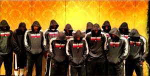 Taking a stand — The Heat didn't take the death of Trayvon Martin lightly, posing for this photo in support of the Martin family. Google Images