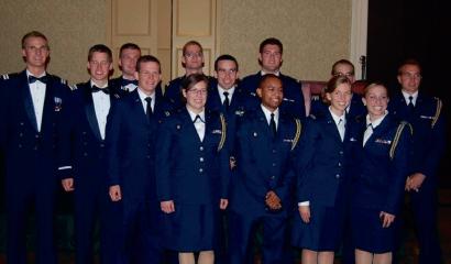 liberty rotc cadets commission the liberty champion