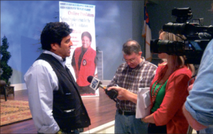 Actor — Chips actor Erik Estrada discusses his leading role in the upcoming film. Photo credit: Melanie Oelrich