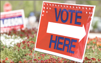 Voting — After registering, students should locate their polling location. Photo Credit: Ruth Bibby
