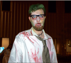 Undead — Students terrorized Liberty's campus Sunday. Photo provided