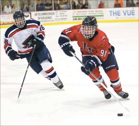 Dominance — The Flames outscored the Colonials 23-3 in their two-game series this weekend. Photo credit: Ruth Bibby