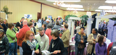Planning — Capture It Events is preparing for the fourth annual Lynchburg Bridal Expo. Photo provided