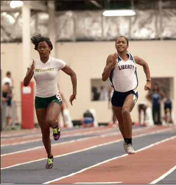 Fast afoot — The men's and women's track team continues to build