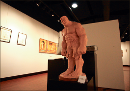 Skill — Liberty faculty's art provides an example for students. Photo credit: Ruth Bibby