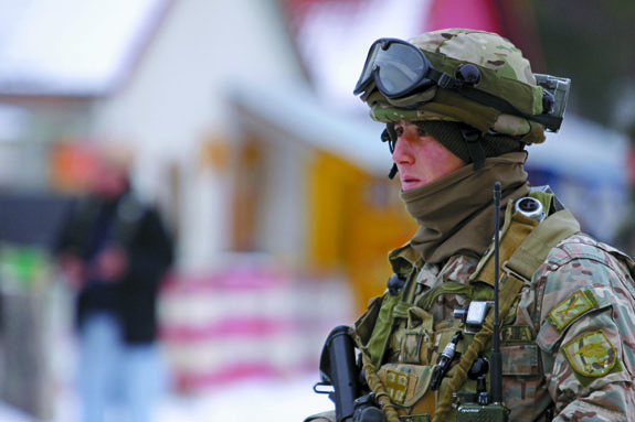 Spending cuts - The military could be losing government funding.
