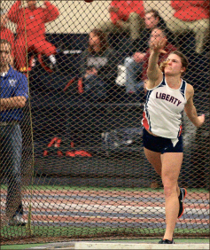 Not a chance — With its showing at the Virginia Cup, Liberty established itself as the team to beat. Photo credit: Ruth Bibby