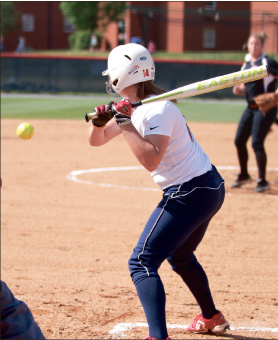 Gettin' it rolling —  The Lady Flames have put together two straight wins and now look to continue their success on the road. Photo credit: Jody Johnson