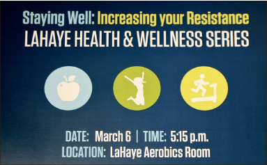 Fitness — The Fitness Center at Green Hall offers multiple health and wellness classes. Photo credit: Tyler Eacho