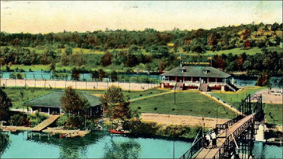 park — Treasure Island as it looked when it held a YMCA camp, circa 1920s. Photo provided