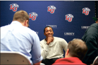 After Convocation, Lecrae held a press conference before his sold out concert.