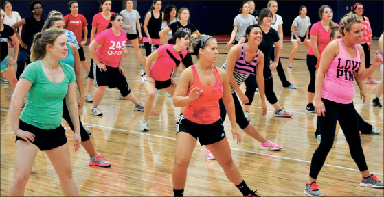 Zumbathon raises awareness with MDA