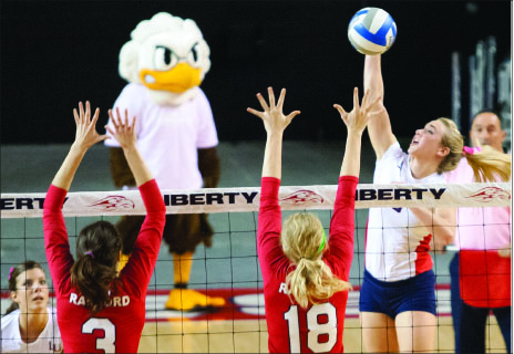 Winning mentality— The Lady Flames hope to continue to dominate the Big South Conference. Photo credit: Ruth Bibby