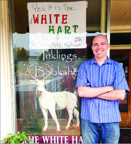 reopening — Loper missed the White Hart and decided to purchase the closed business. Photo credit: Tobi Walsh