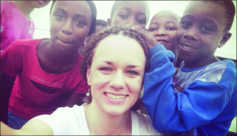 hometown — Sullivan has called Kenya her temporary home since her arrival.  Photo provided