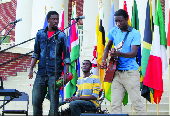 heritage — Niboneras is a band of three brothers.  Photo credit: Gabriella Fuller