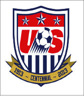 EMBLEM — New uniforms celebrate 100 years of U.S. soccer. Google Images