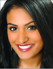 queen — Davuluri is the first Indian-American contestant to be crowned. Photo credit: Zennie Abraham