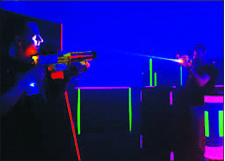 Light — Laser Tag Source hopes to set a new record. Google Images