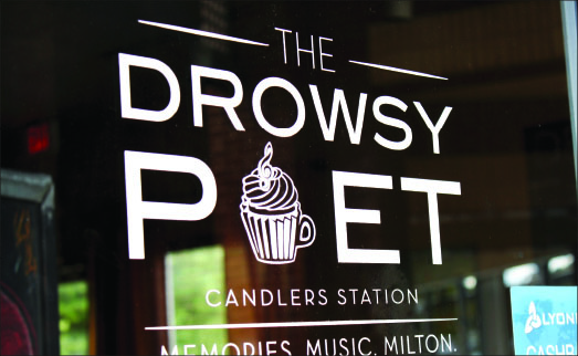 Farewell — Those who love The Drowsy Poet are encouraged to visit the Lakeside Drive location for their favorite treats. Photo credit: Abby Kourkounakis